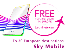 Sky free flight offer